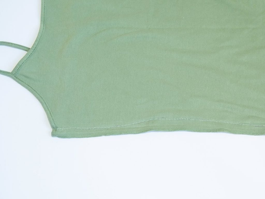 camisole new side seam
