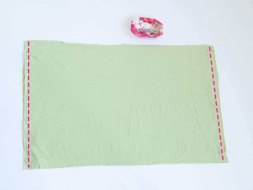 where to sew side seams on a full slip