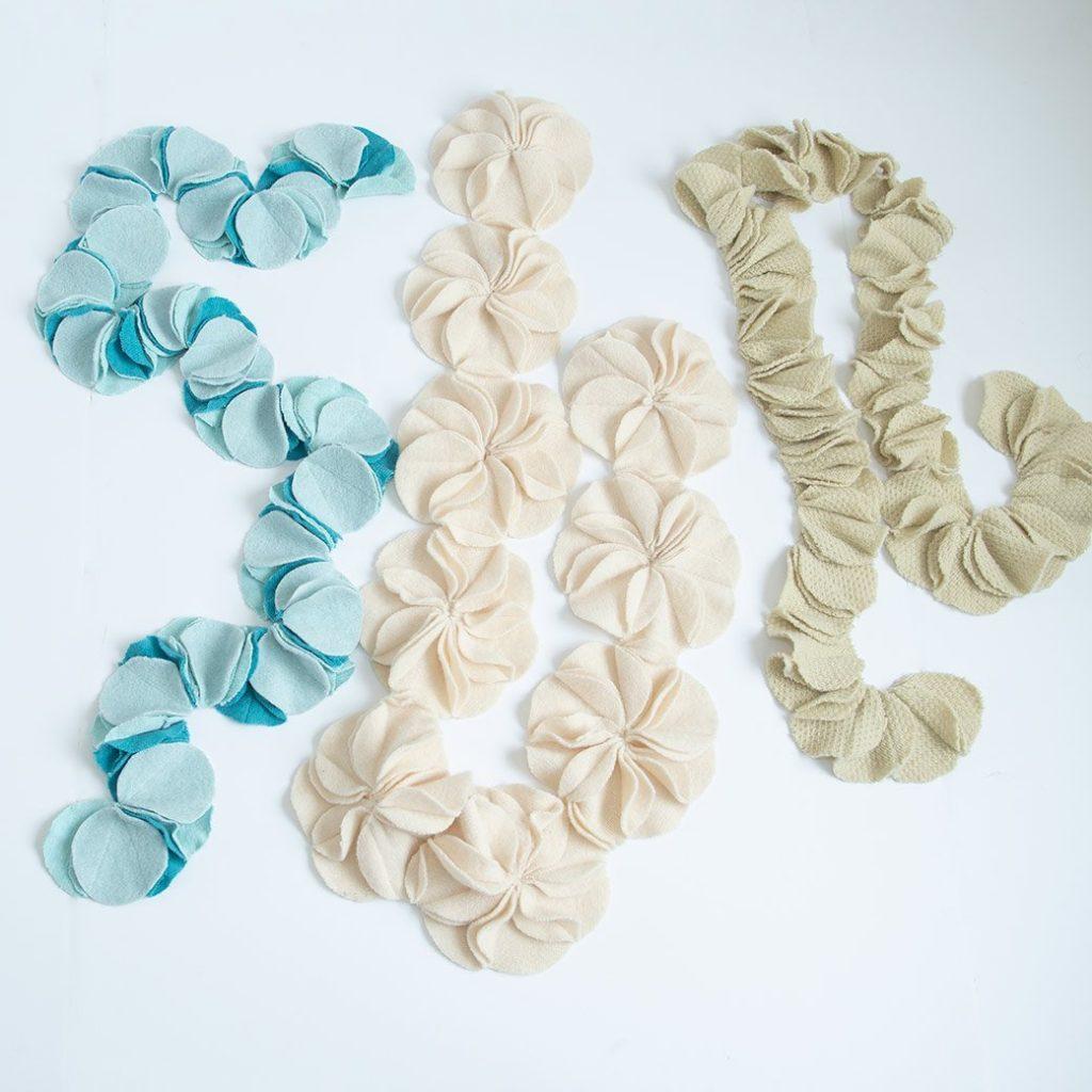 3 scrap scarves
