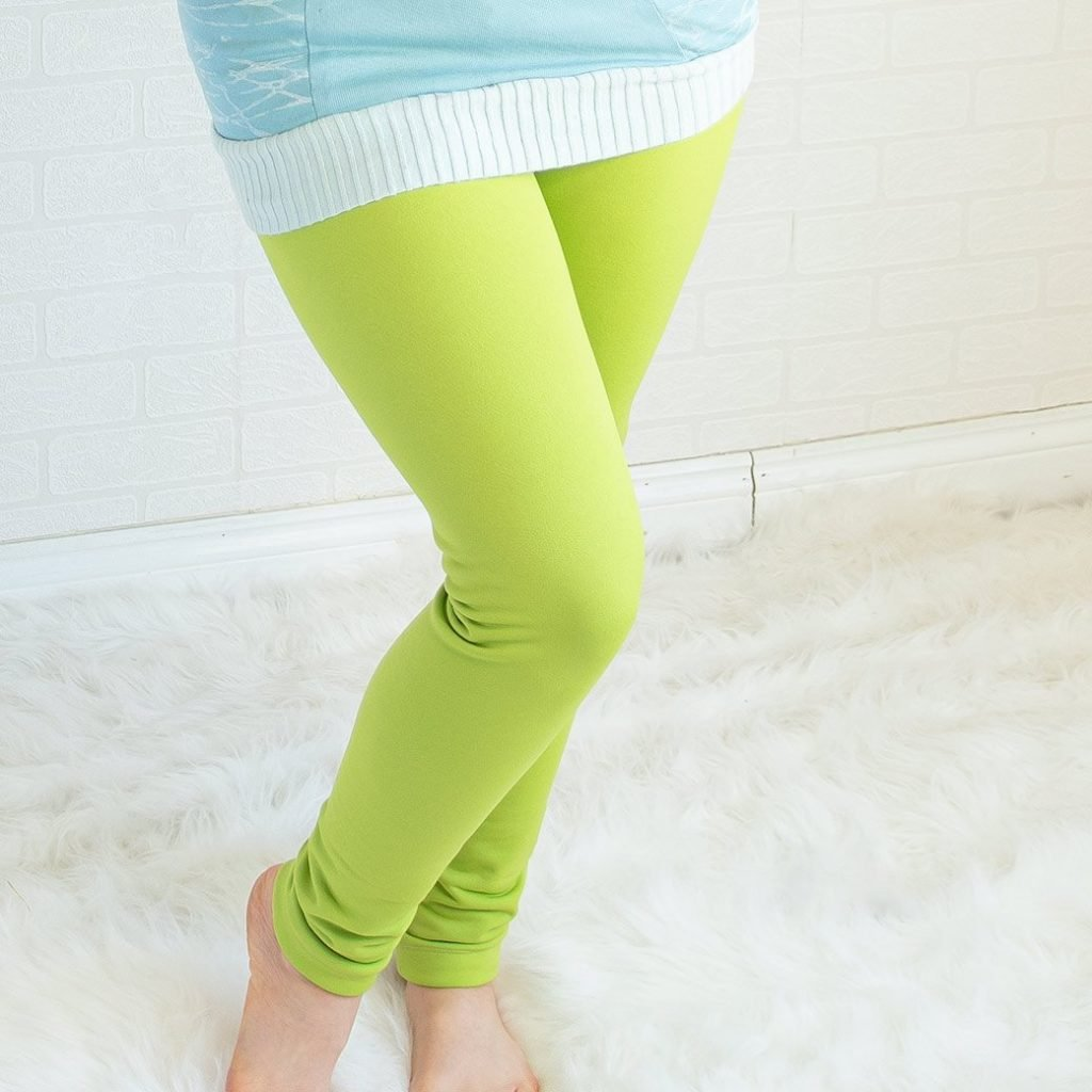 DIY fleece leggings