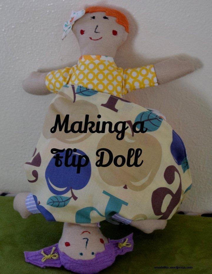 Flip doll: Elizabeth Made This