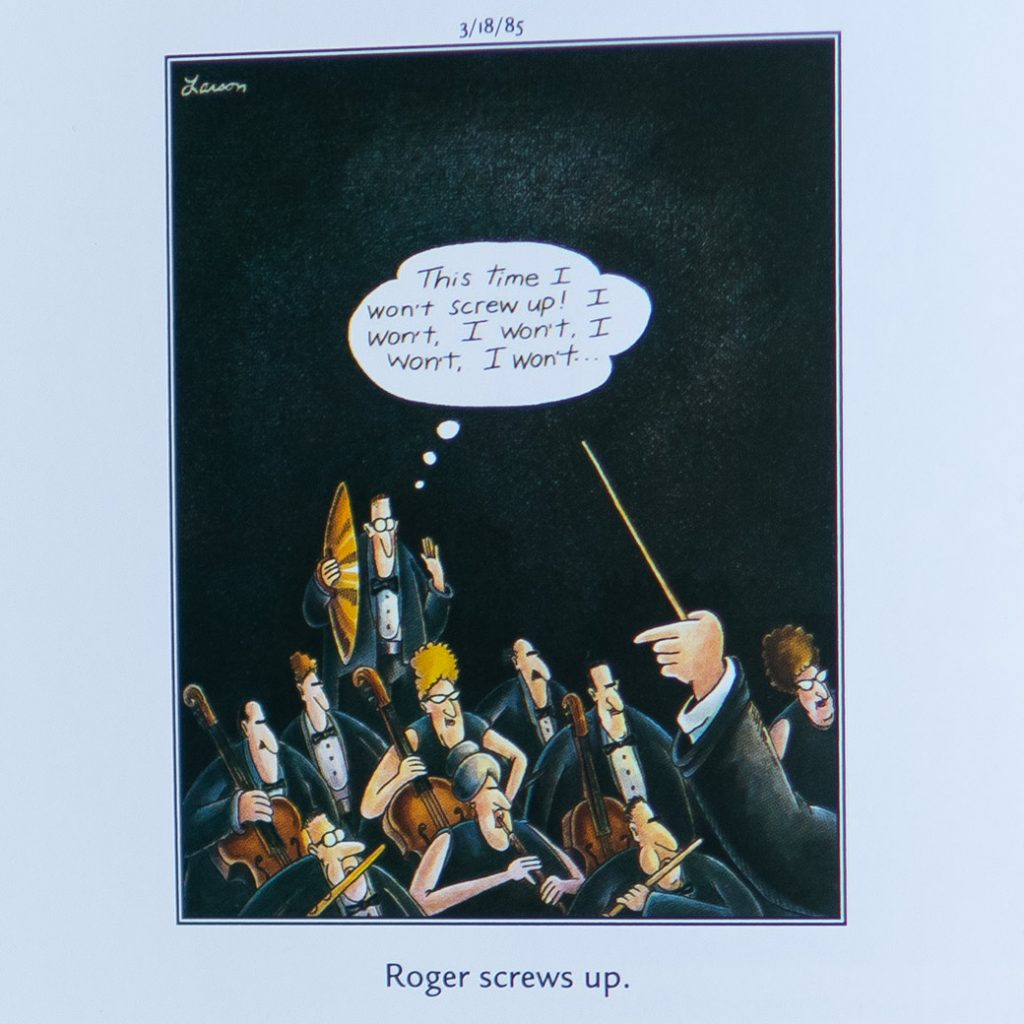 Roger screws up Far Side