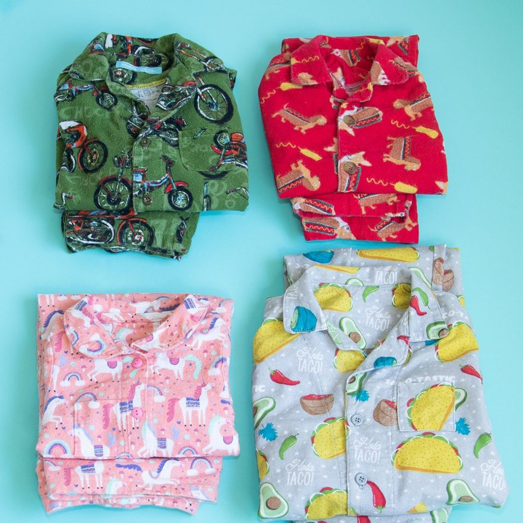 pjs made with batch sewing