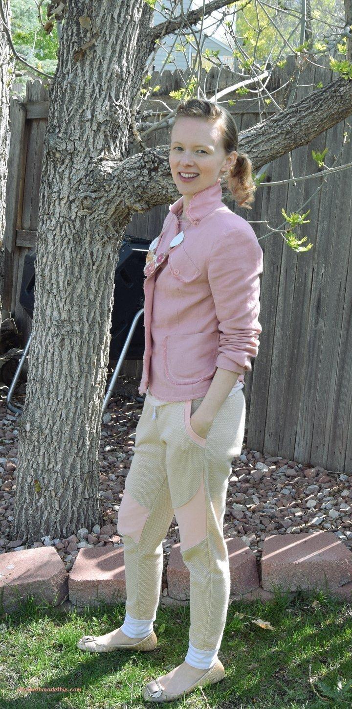 Colorblocked Hudson Pant