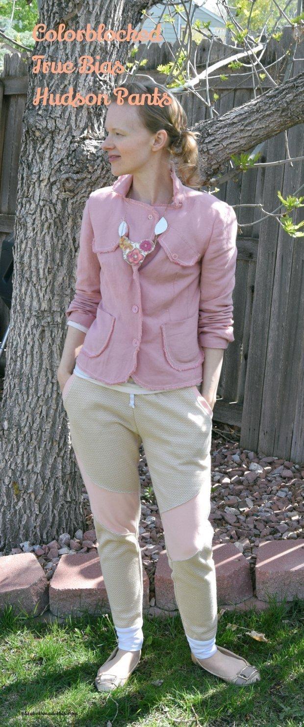 Colorblocked Hudson Pants: Elizabeth Made This