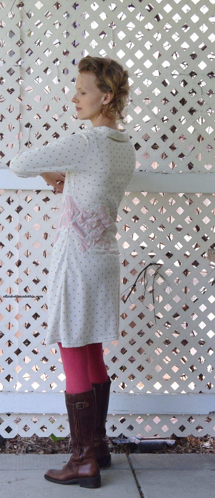 bird tessalation dress