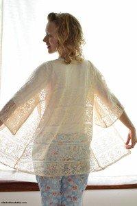 Sew a Lace Robe