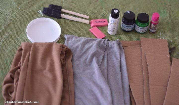 eraser printed leggings