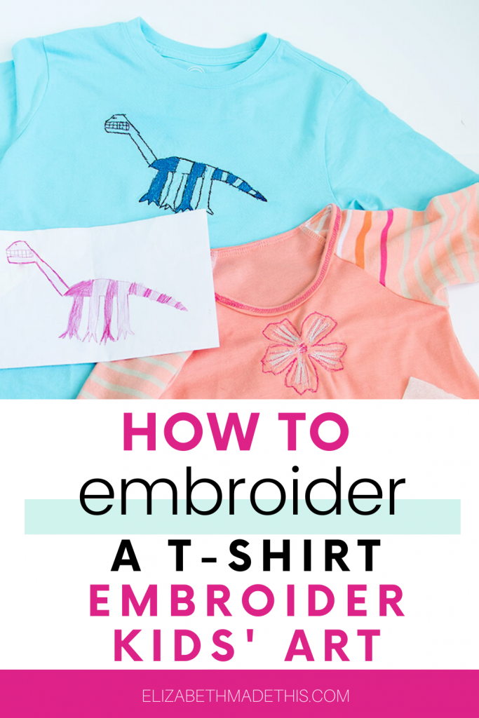 how to embroider a t-shirt with embroidered t-shirts