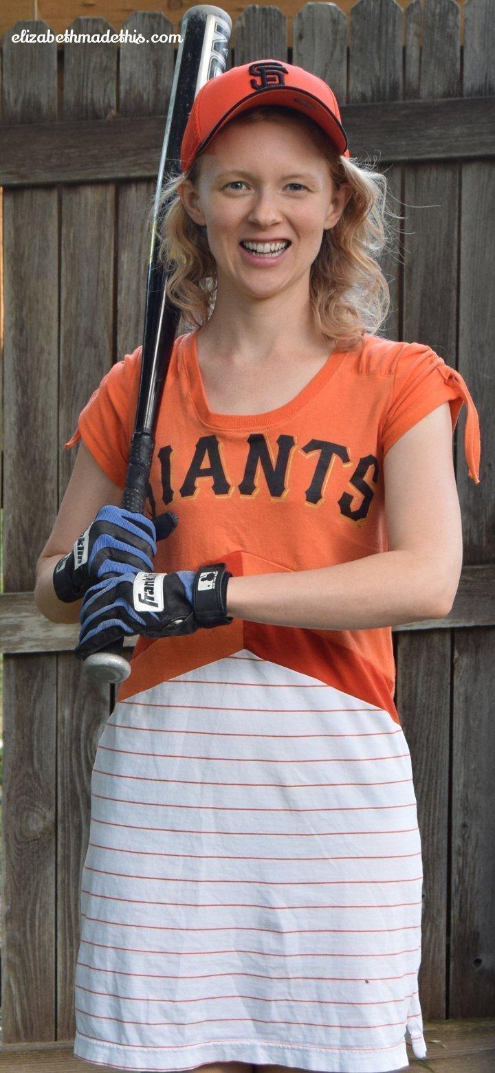 baseball fan dress