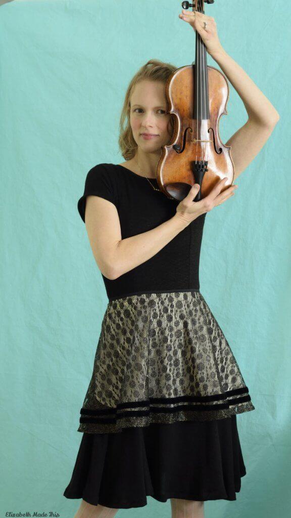 violin plus Jalie Bella