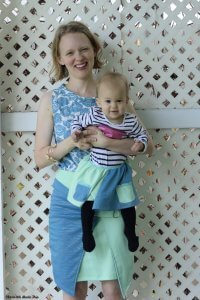 DG Patterns' Addison Skirt and Mother's Day Aprons