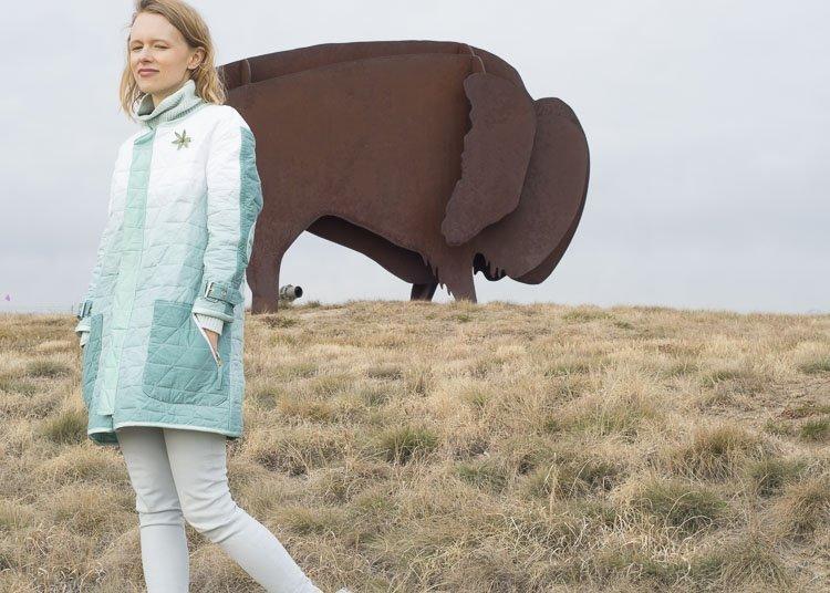 diy quilted coat