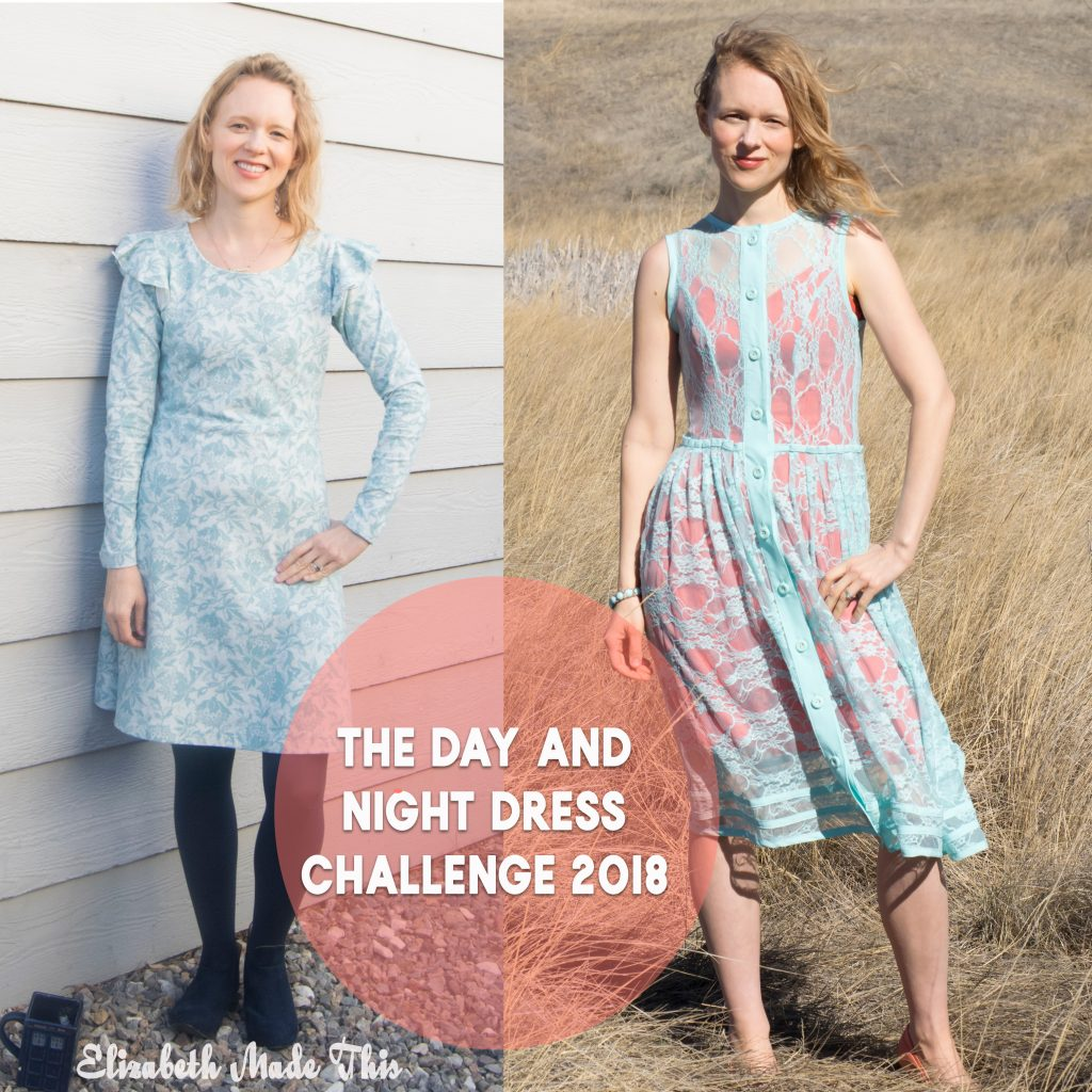 The Day and Night Dress Challenge 2018: Elizabeth Made This