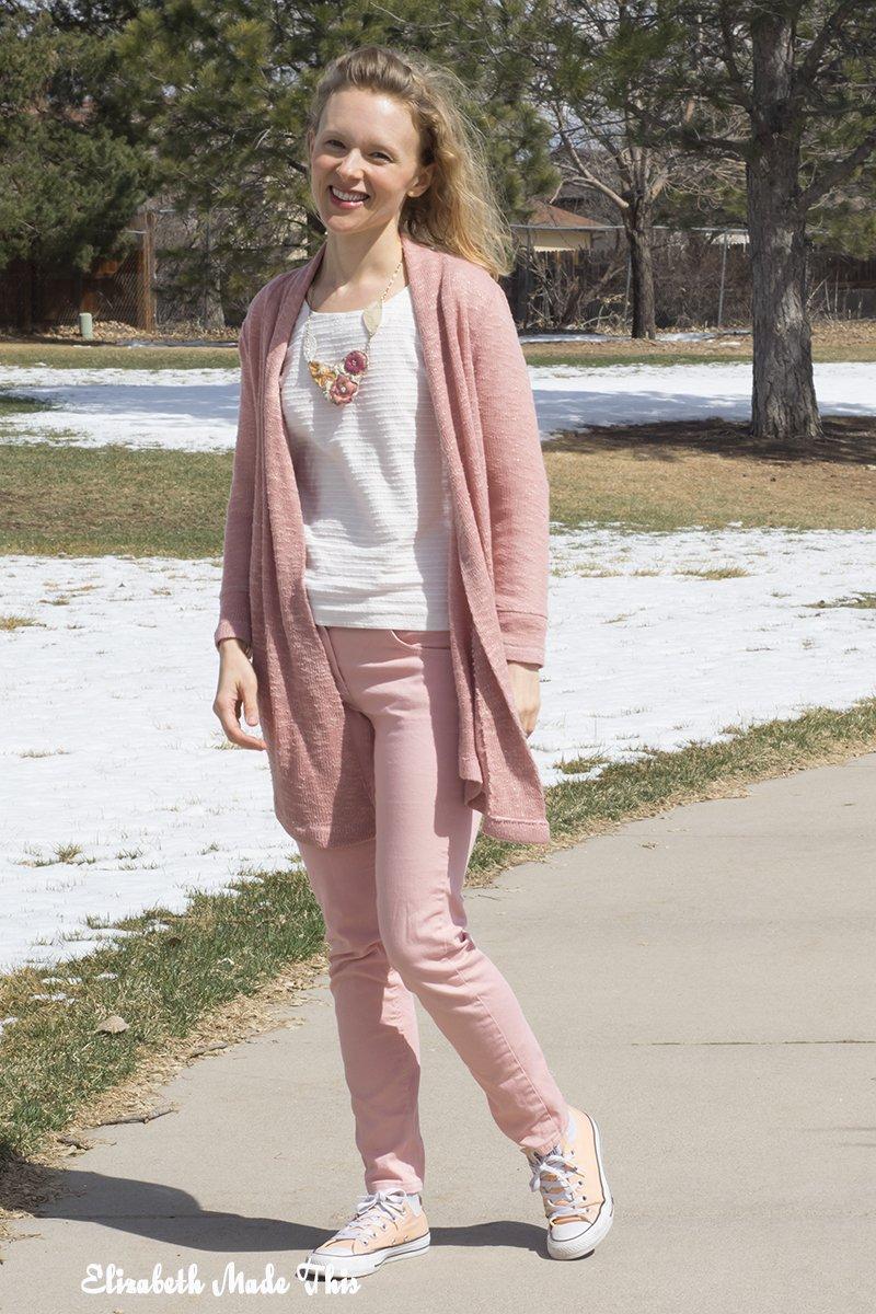 spring mini-capsule wardrobe