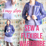 dress styled 3 ways for a flexible wardrobe