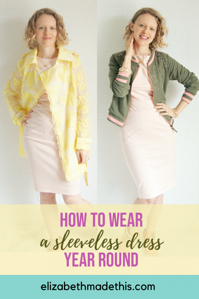 How to style a sleeveless dress year-round