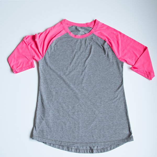 basic raglan baseball t-shirt