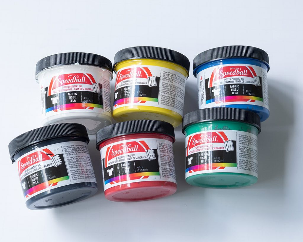 blockprinting supplies: screen printing ink