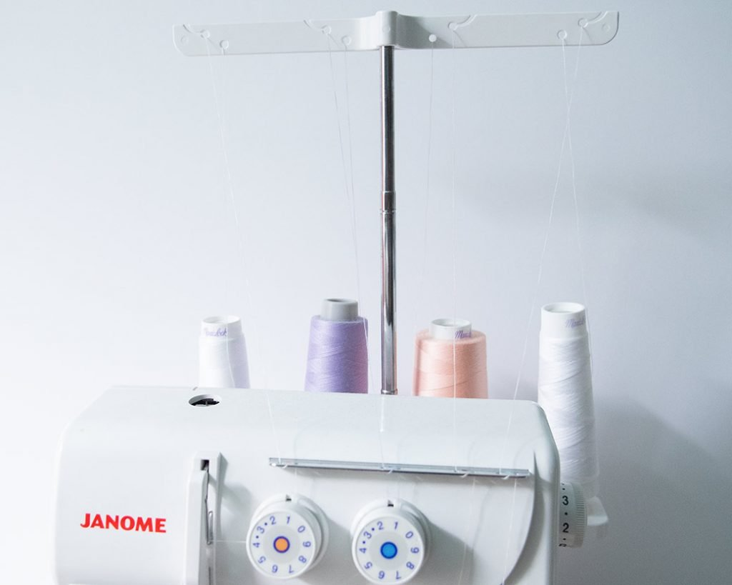 serger thread on a serger