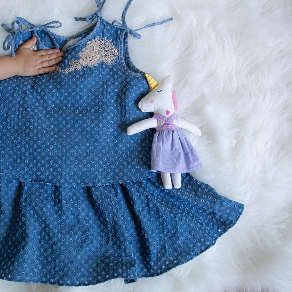 Ottobre toddler dress