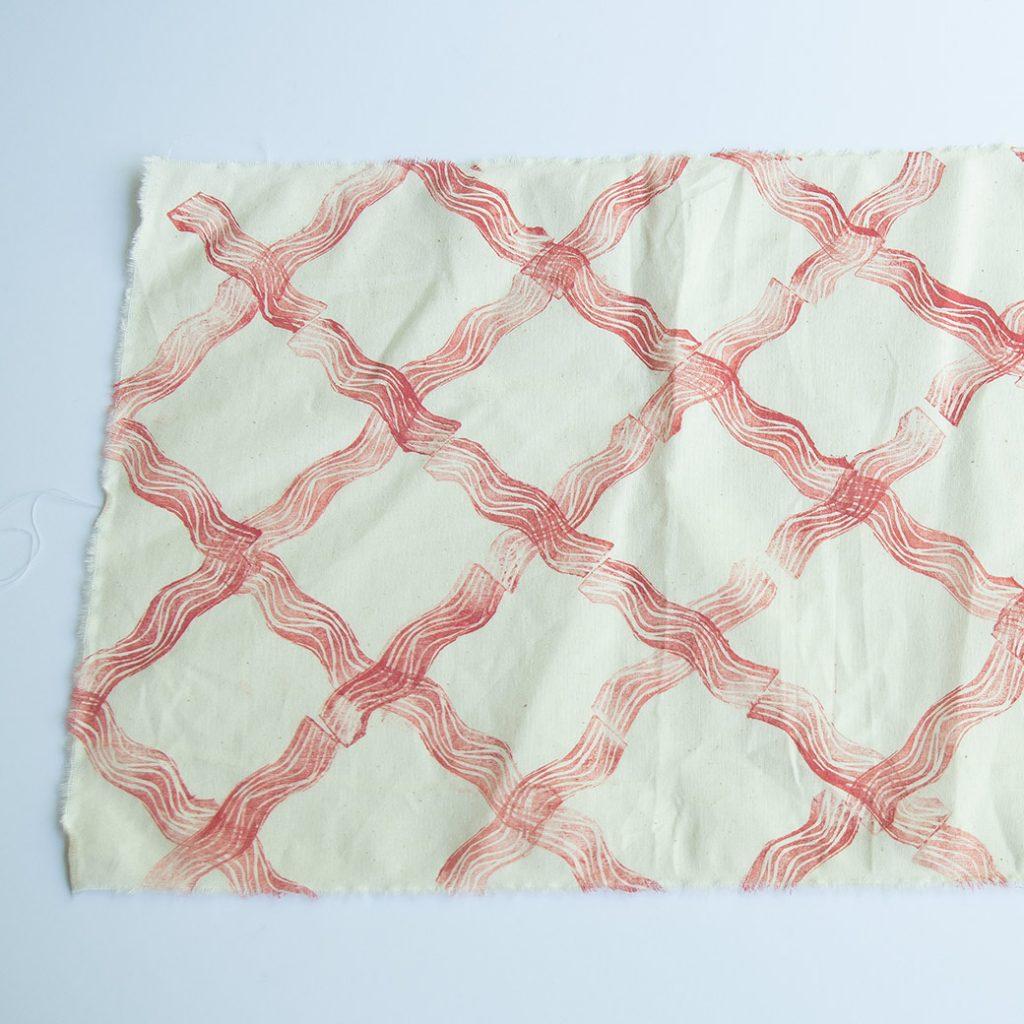 diamond block print pattern repeat for fabric