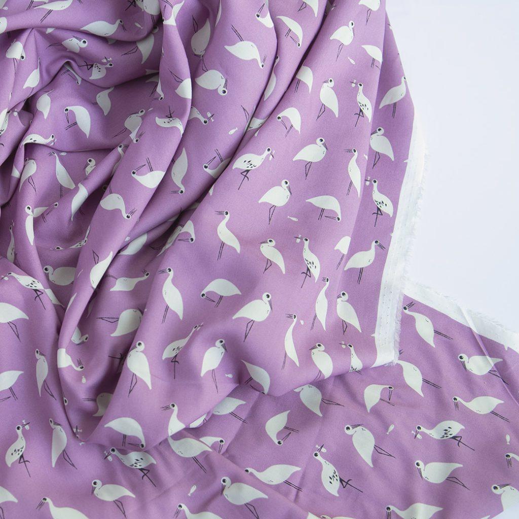 fabric drape on rayon challis