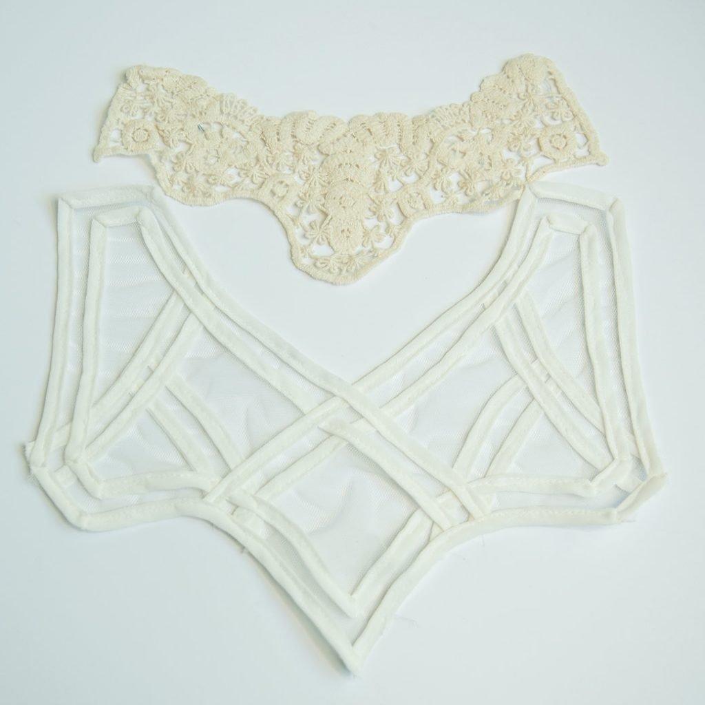embellishment ideas: collar appliques