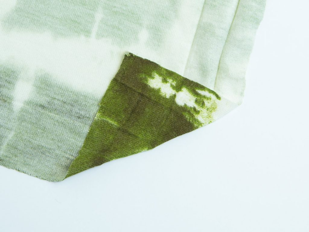 folding a mitered corner