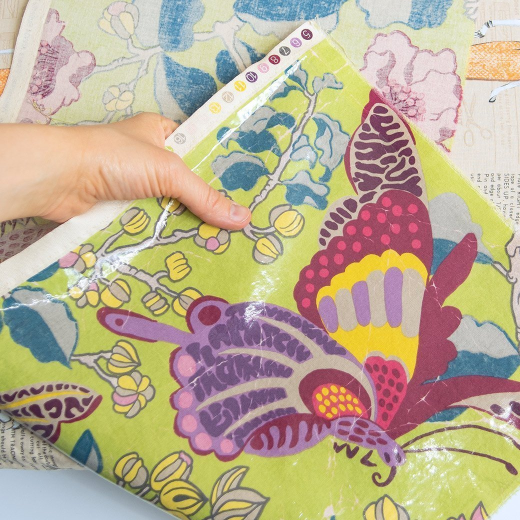 Make your own laminated fabric with Heat n' Bond iron-on ...
