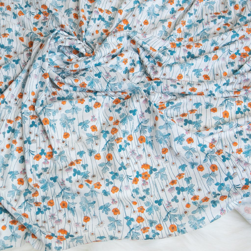 Fall fabrics: cotton jersey