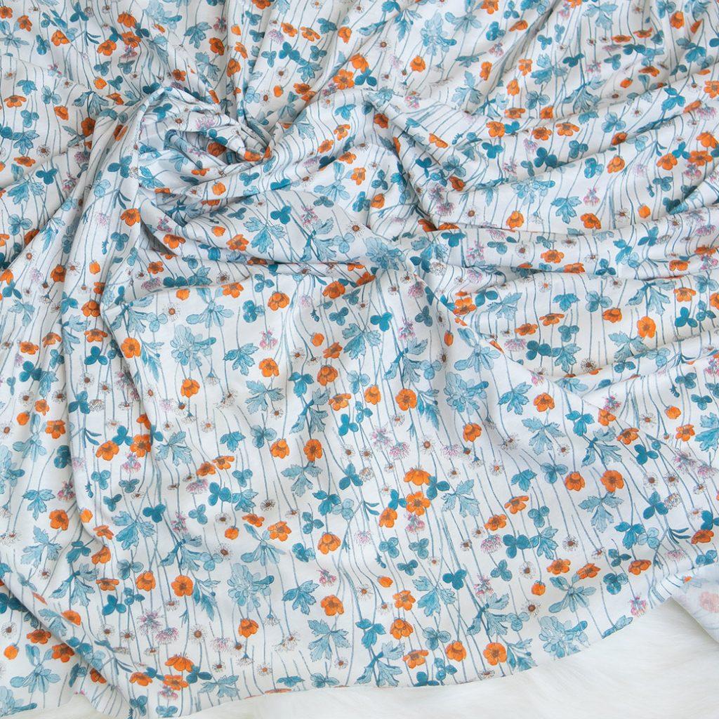 Fall fabrics: cotton jersey