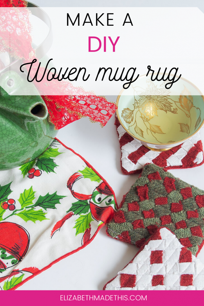 Make A Festive Diy Woven Rug Mug Elizabeth Made This