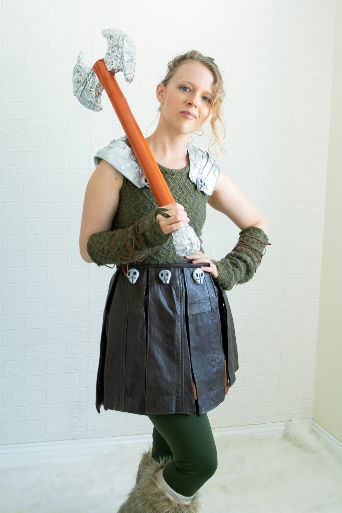 halloween sewing Astrid cosplay
