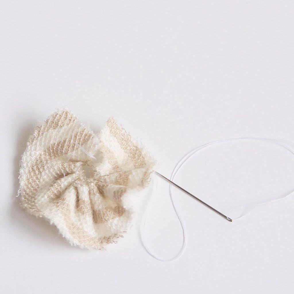 forming a fabric pinwheel