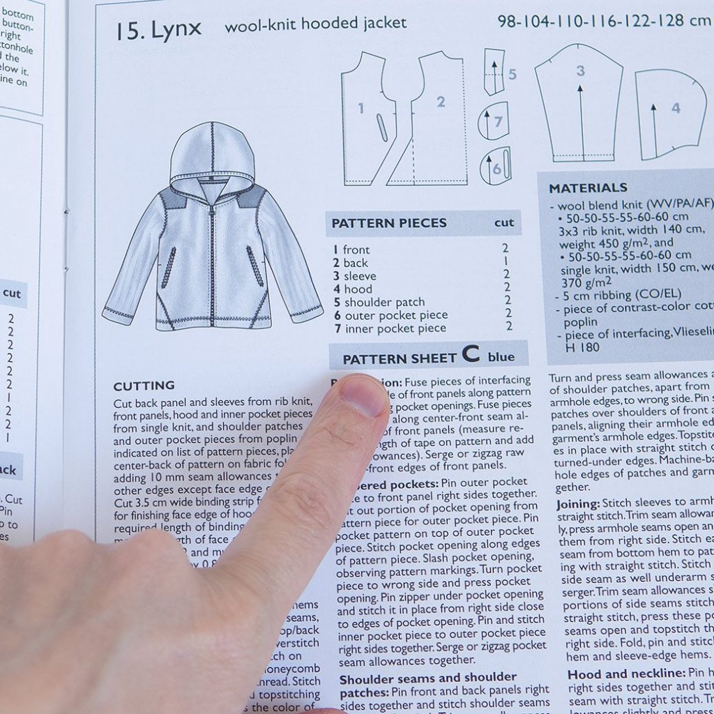 How to use sewing pattern magazines like an ace