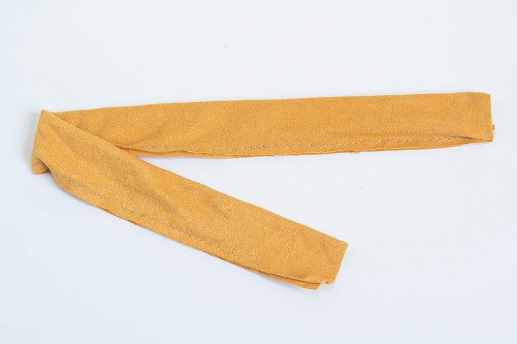 unturned scrunchie tube