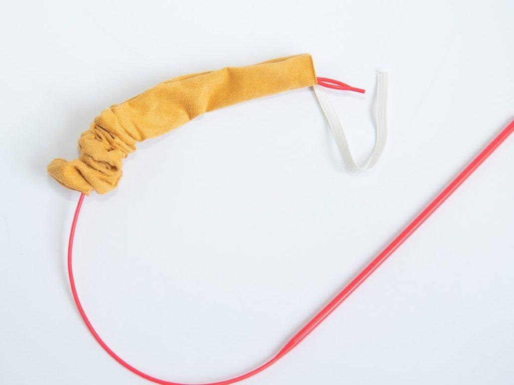 easy threader in scrunchie to add elastic