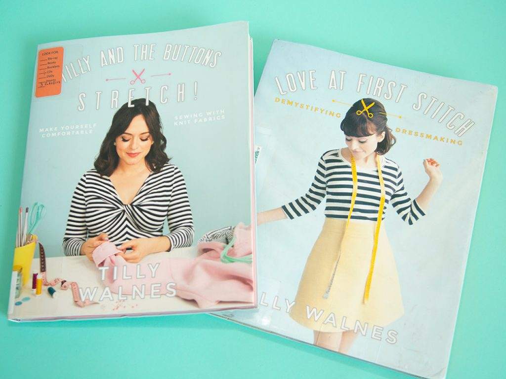 books Love at First Stitch, Tilly and the Buttons StretchTilly Walnes