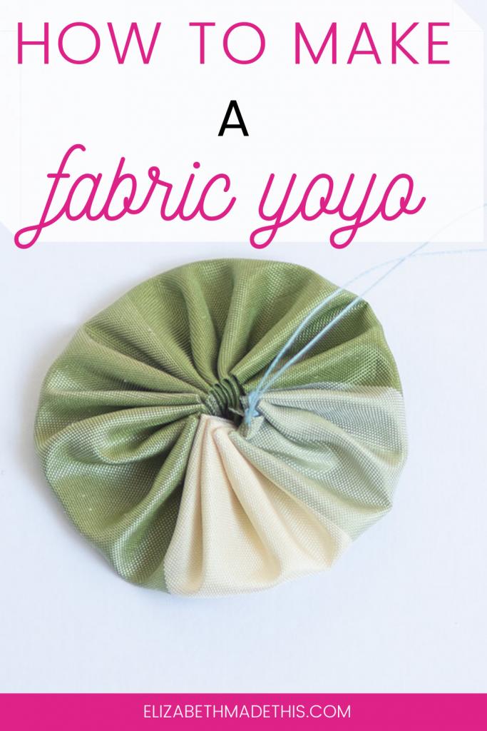 fabric yoyo