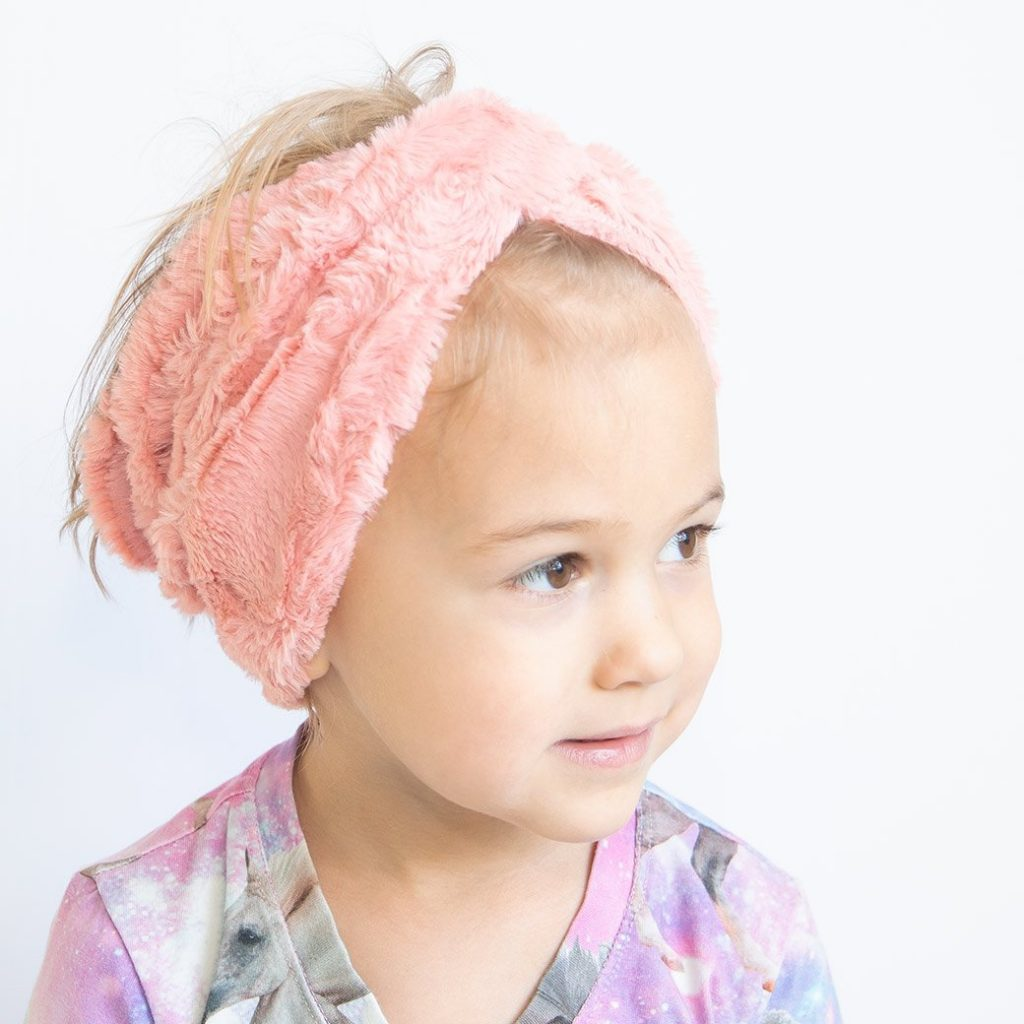 chenille knit twist headband