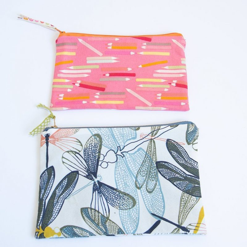 7 minute DIY zipper bag