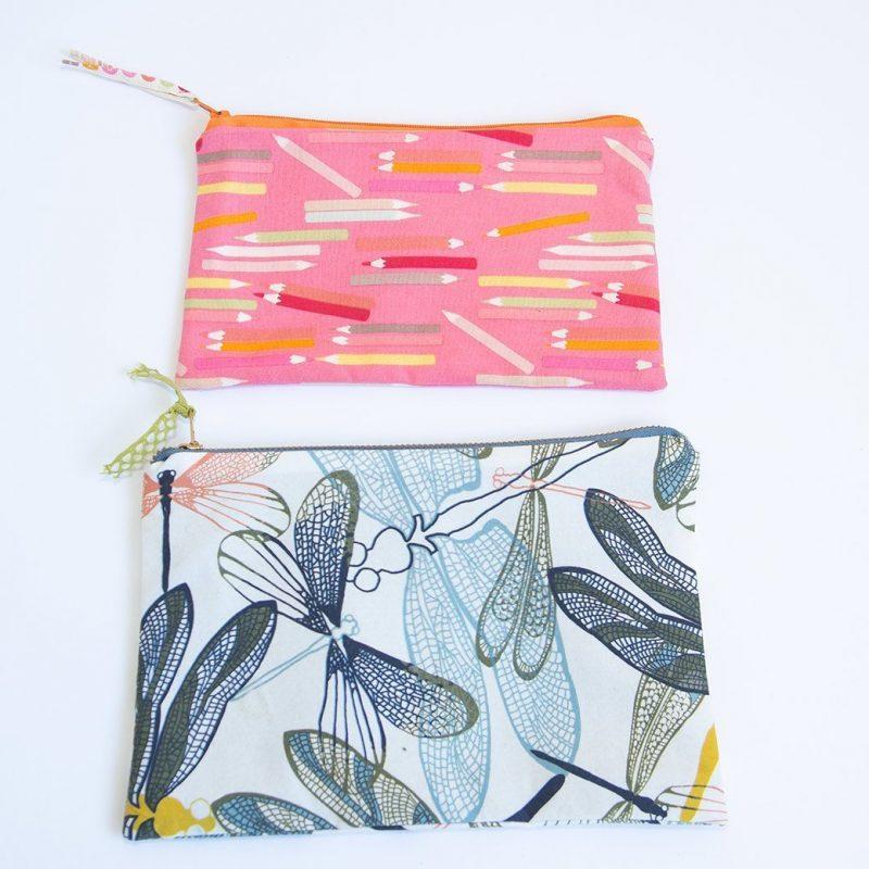 7 minute DIY zipper bag