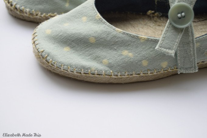 dritz espadrilles with bleach pen
