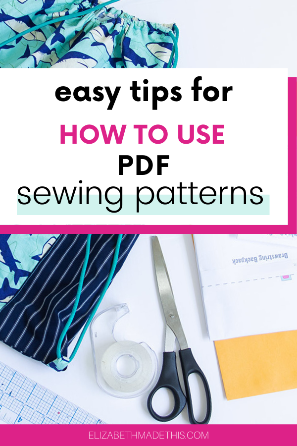 How to use PDF patterns