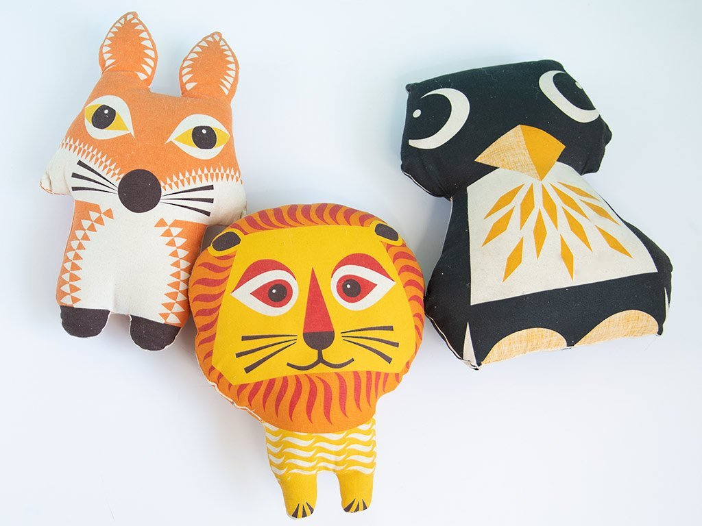 handmade animal pillows