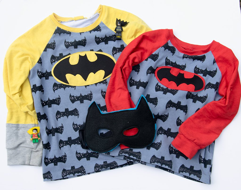 batman pajama tops
