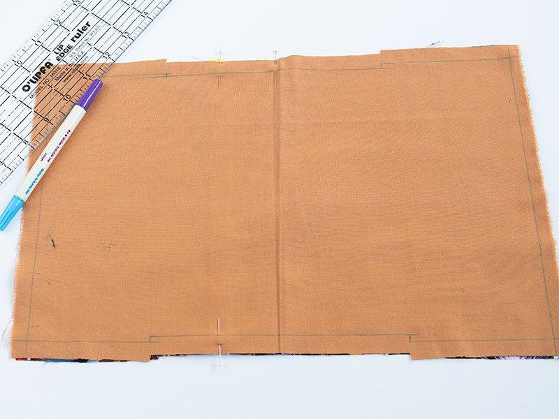 marking stitch line
