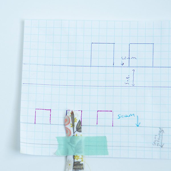 drawing loops on graph paper