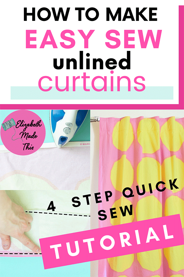 How to make curtains steps
